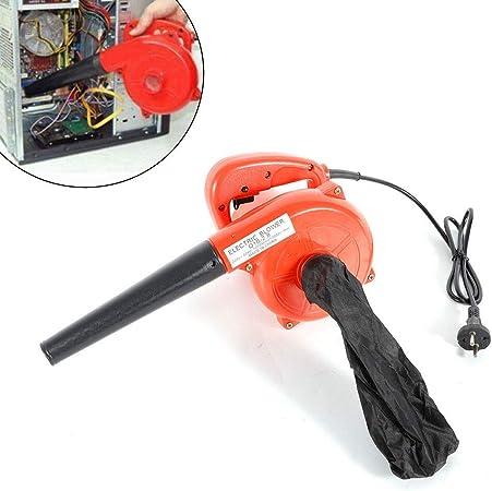 MOMOJA 1000W Soplador eléctrico de Hojas Soplador de Hojas con Bolsa de Polvo para computadora Limpieza de automóviles 13000r / min Rojo: Amazon.es: Bricolaje y herramientas