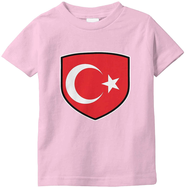 Amdesco Turkey Shield Turkish Flag Infant T-Shirt