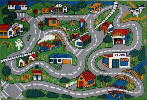 Fun Time - Country Fun Kids Area Rugs - 8 x 11 ft.