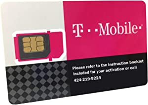 T-Mobile Prepaid SIM Card Unlimited Talk, Text, and Data in USA for 7 Days