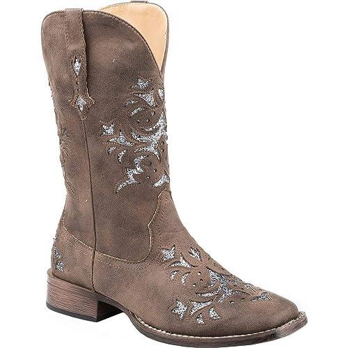 74dc1eea17b ROPER Ladies Kennedy Square Toe Tan Boots