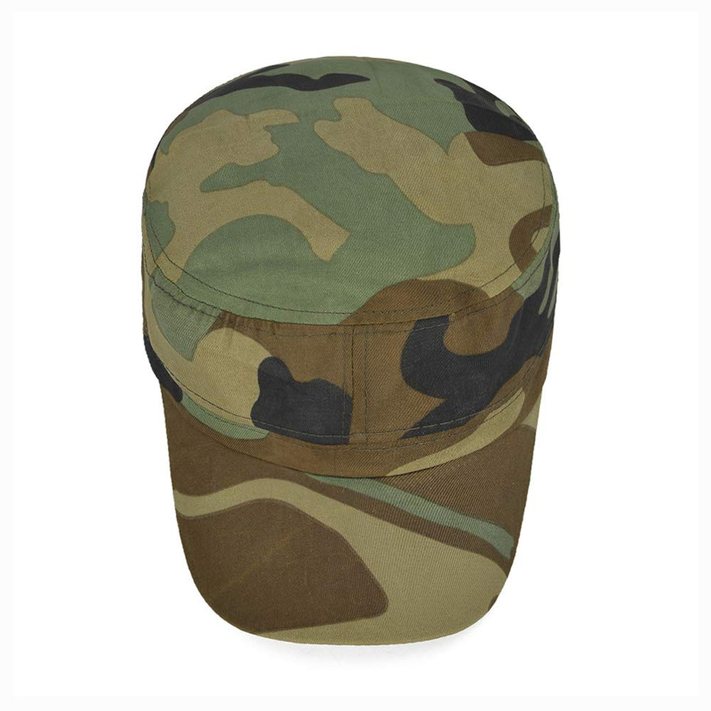 CNBEAUM Camouflage Baseball Outdoor Travel Sunshade Cap Male and Female Students Military Training Hat