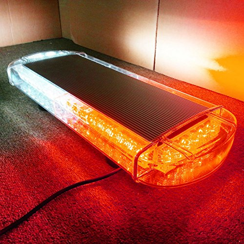 VSLED Black Aluminium Case 12V Amber 24V 53 108 LED Emergency Warning LightBar Recovery Rescue Beacon LightBar Wrecker Flashing LightBar