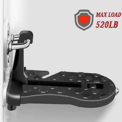 Geari UK - Gancho para Puerta de vehículo, Escalera Plegable en Forma de U para Jeep/SUV/Todoterreno, fácil Acceso a Techo de Coche: Amazon.es: Coche y moto