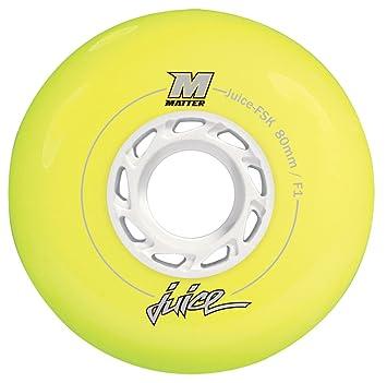 Matter Rollen Fsk - Ruedas para patines en línea, color amarillo, talla 72: Amazon.es: Deportes y aire libre