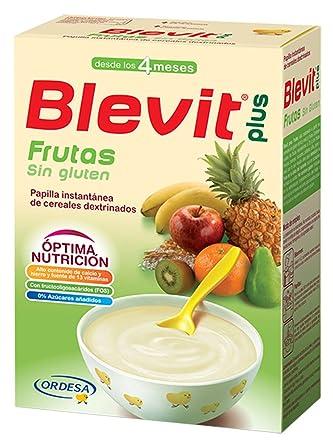 Blevit Plus Frutas Cereales - 300 gr