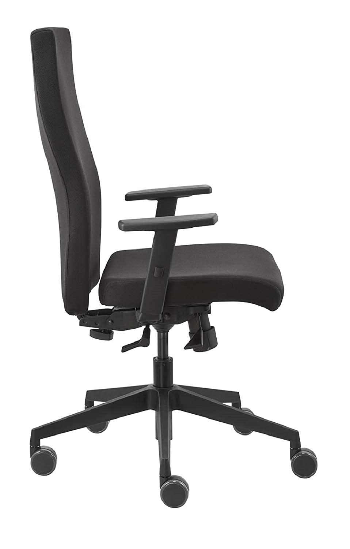 Dauphin Trend Office I-Valo Strike Plus Comfort Vo 9248 - Silla de Oficina giratoria, Oficina, Negro, Completamente tapizada Respaldo integrada, ...