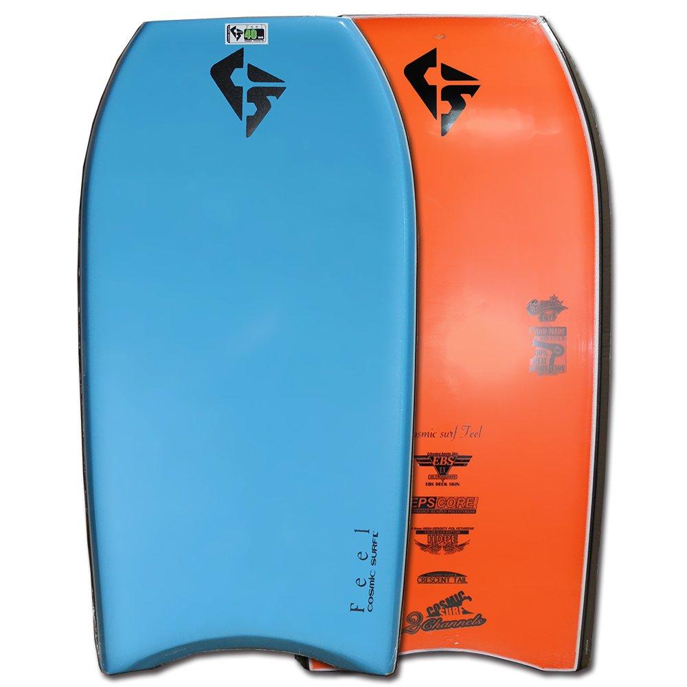ボディボード メンズ 40 42 インチ cosmic surf/FEEL 単品 最新モデル B07F42N6D8  ブルー 42