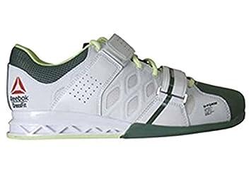Reebok Crossfit Lifter Zapatillas de Levantamiento de pesas WhiteSilvGrn Talla:41