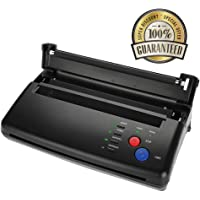 Semme Máquina de Impresora de Papel de copiadora de Transferencia de Tatuajes con Plantilla térmica A5 Kit de Tatuaje de Artista de impresión de Papel A4 para temporaria y Permanente(US)