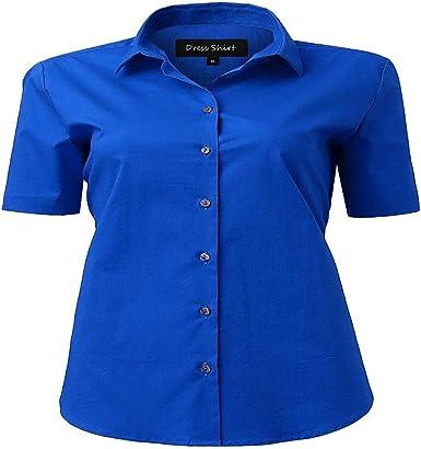 Fashion Nova - Camisa de Manga Larga para Mujer de algodón ...