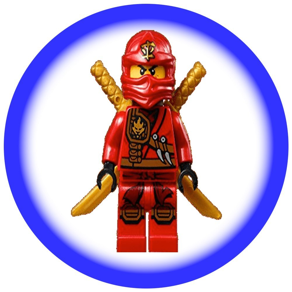 Holly Cupcakes 24 Fabulous Edible Wafer Cake Toppers Ninjago