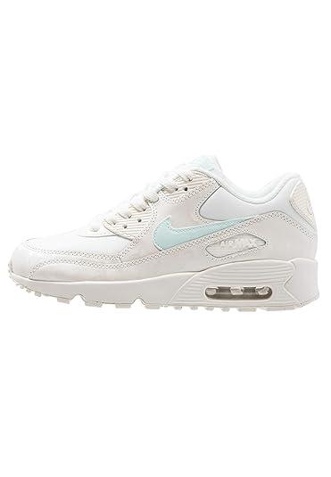 size 40 3af09 3ec3b Nike - Air Max 90 Mesh GS - 833340107 - Color  White-Cream -