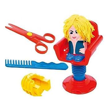 Set Masa Plastilina Cabello Pelo Moho Juguete Nino Adulto Craft Hair Style Maker: Amazon.es: Juguetes y juegos