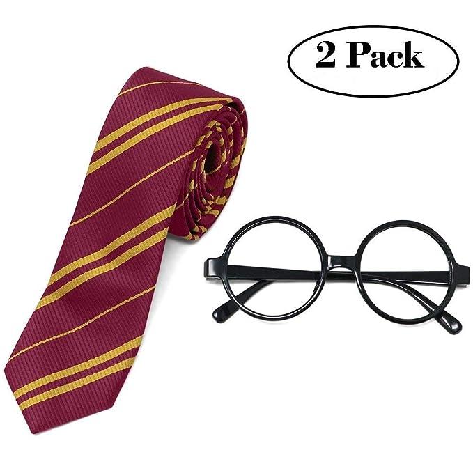 Conjunto gafas y corbata para dizfras Harry Potter - Ideales  tambien como regalo de Navidad.