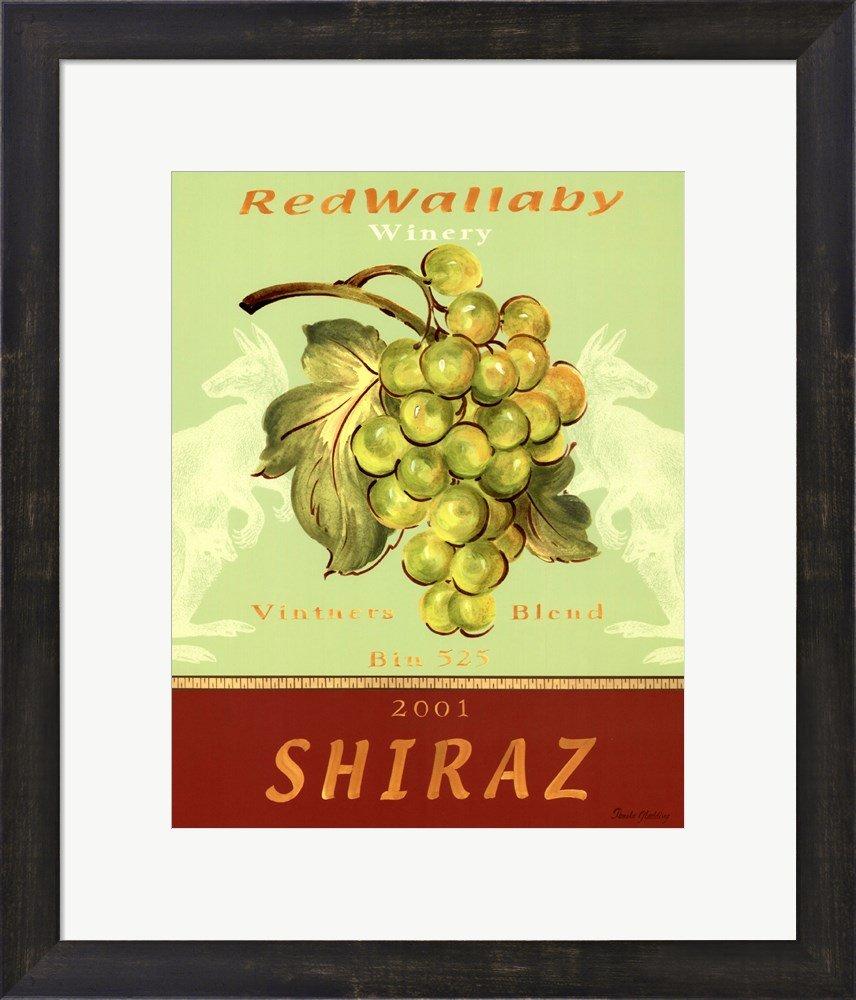 Amazon.com: Shiraz by Pamela Gladding Framed Art Print Wall Picture ...
