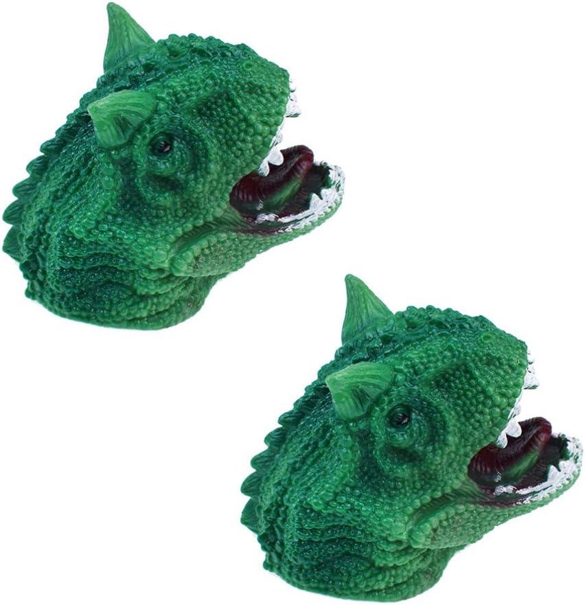 NUOBESTY Animal Hand Puppet Imaginative Play Hand Puppets Animal Teaching Gloves Puppets Gift for Children Adults Shark Blue