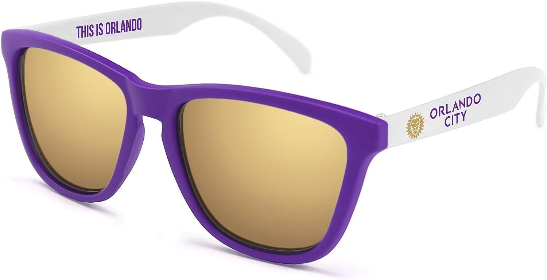 MLS Orlando City SC  Sunglasses One Size Purple//White ORL-3