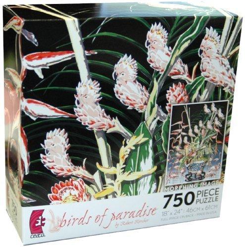 Price comparison product image Robert Kercher Metamorphosis 750-Piece Jigsaw Puzzle - Birds of Paradise