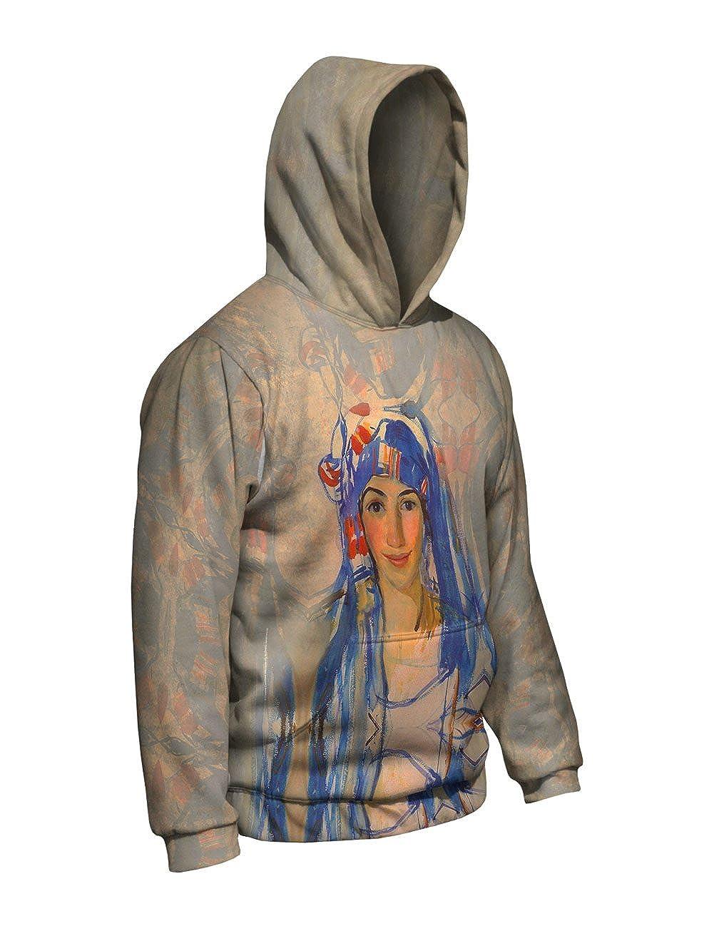 Self Portr Allover Print Mens Hoodie 2393 Yizzam- Zinaida Serebriakova