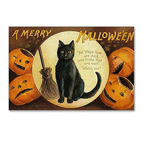 CafePress - Vintage Merry Halloween - Postcards (Package of 8), 6