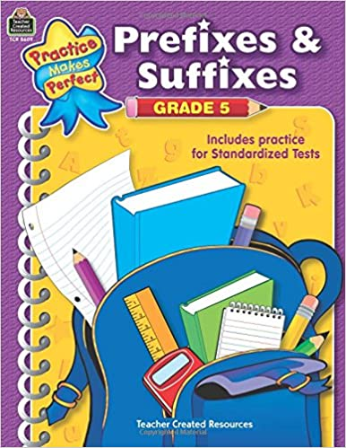 Amazon.com: Prefixes & Suffixes Grade 5 (Practice Makes Perfect ...