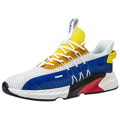 JiaMeng Zapatos de Baloncesto para Hombre Zapatillas ...