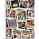 Caderno Universitário Friends, Foroni 63.6390-4, Multicor