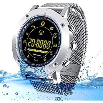 Amazon.com: Fashion Mens Smart Watch for iPhone Android ...