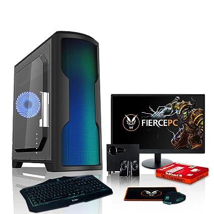 Fierce VULTURIS - 4,4GHz AMD Athlon II X4 880K Cuatro Nucleos overclockeado Procesador, NVIDIA GTX 1060 3GB Tarjeta grafica, 16GB RAM 120GB SSD 1TB ...