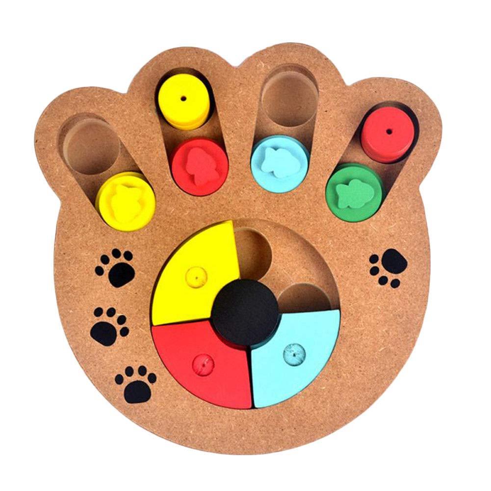 ,B FidgetFidget Pet Feeder Dog Feeding Food Bowl Activity Toy Strategy Games Dog Training Game B,B