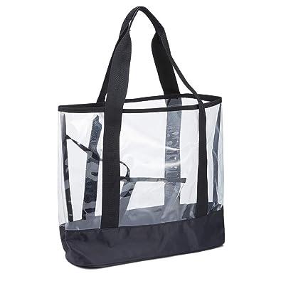 Amazon.com: Bolsas transparentes para mujer - Bolsas ...