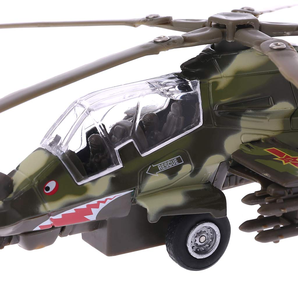 LANDUM Modelo para niños, Mini helicóptero Militar, dron, Juguete ...