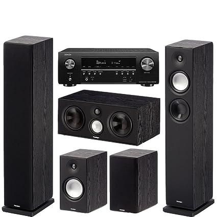 Paradigm/Denon Bundle - Monitor 7 v7 Tower Speaker (pr
