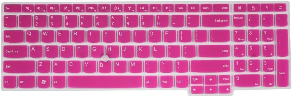 CASEBuy semi-hot rosa suave funda de silicona para teclado de ...