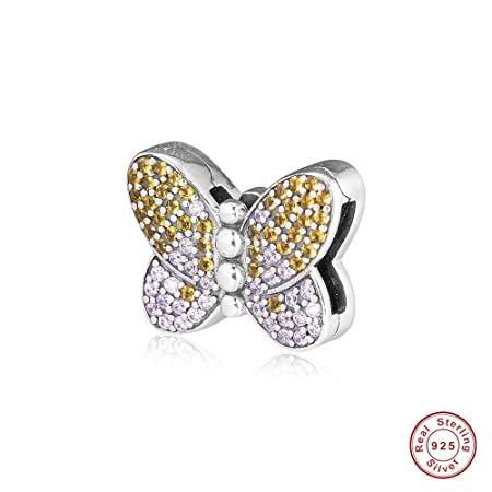 pandora - charm originali farfalle