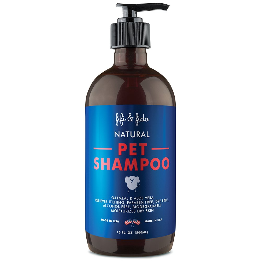 Fifi & Fido Natural Pet Shampoo 16 oz