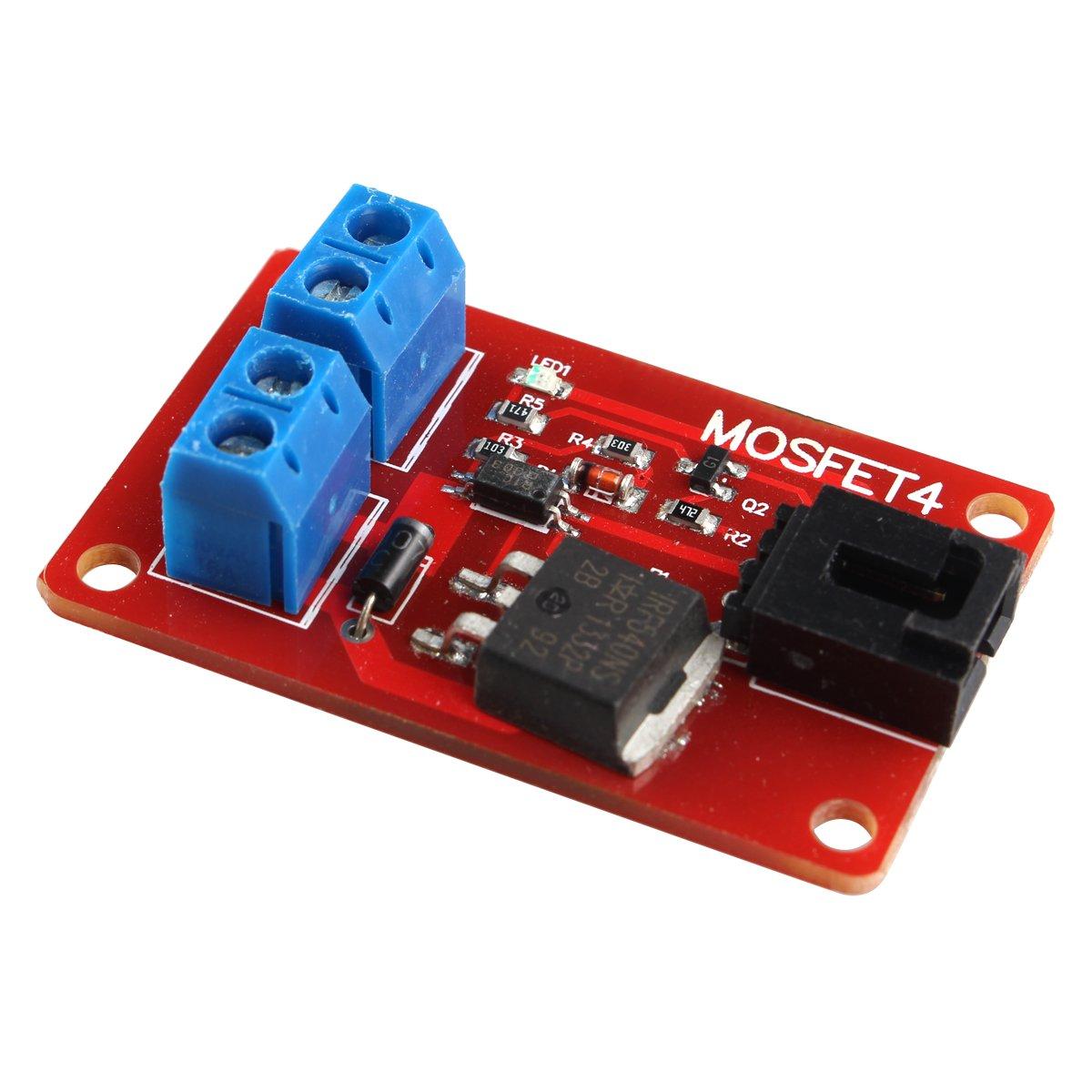 HALJIA 1 Kanal MOSFET Schalter IRF540 Isolierte Leistung für ...