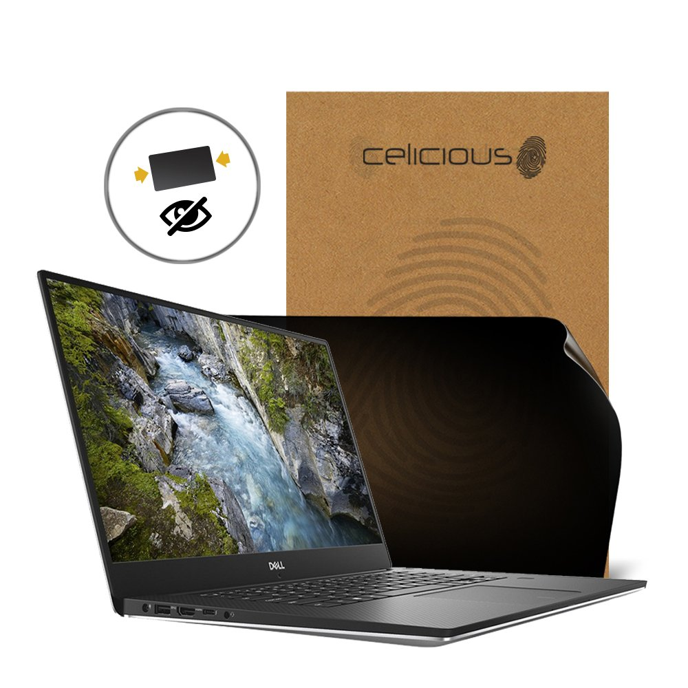 Celicious Privacy 2-Way Anti-Spy Filter Screen Protector Film Compatible with Dell Precision 15 5530 (Non-Touch)