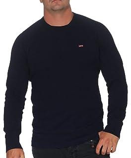bf9339d9bc Levi's Men's Original Crew Sweatshirt: Amazon.co.uk: Clothing