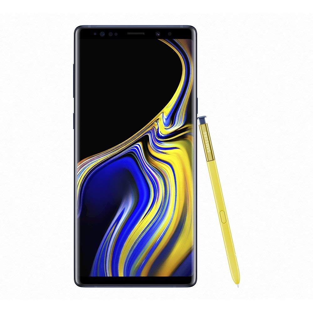 Samsung Galaxy Note9 512GB Dual-SIM SM-N960F/DS (GSM Only, No CDMA) Factory Unlocked 4G/LTE Smartphone - International Version (Ocean Blue)