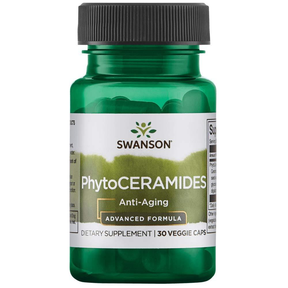 Swanson Advanced Phytoceramides 30 Milligrams 30 Veg Capsules