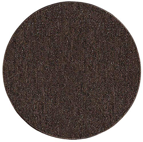 (Ambiant Broadway Collection Pet Friendly Indoor Outdoor Area Rugs Chocolate - 3' Round)