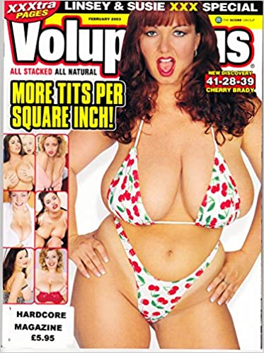 43085996ac Voluptuous Magazine February 2003 Volume 10 Number 2 with Linsey Dawn  McKenzie and Sierra Lewis Paperback – 2003
