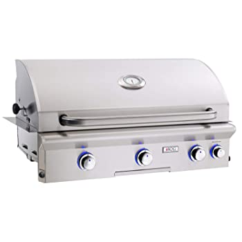 AMERICAN OUTDOOR GRILL 4-Burner 648sq. in Natural Gas Grill