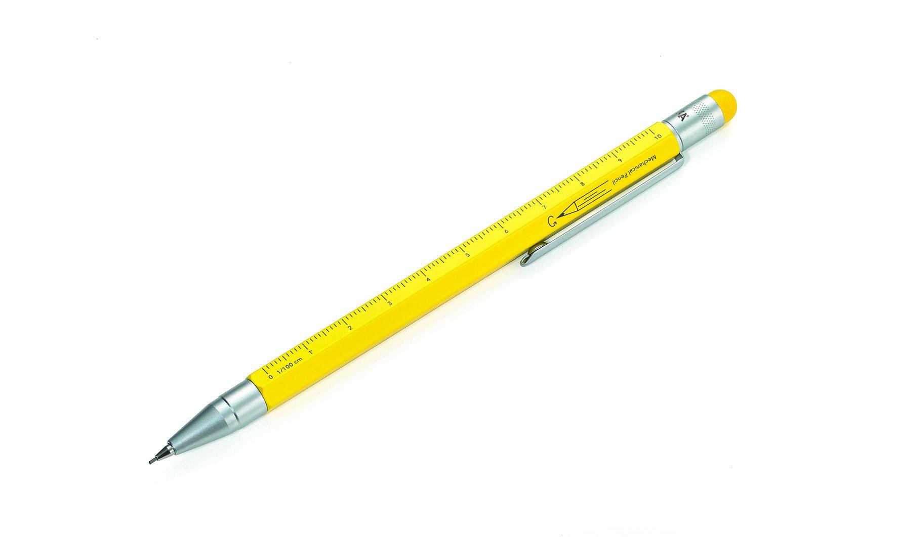 Troika PIP21YE - Portaminas, color amarillo