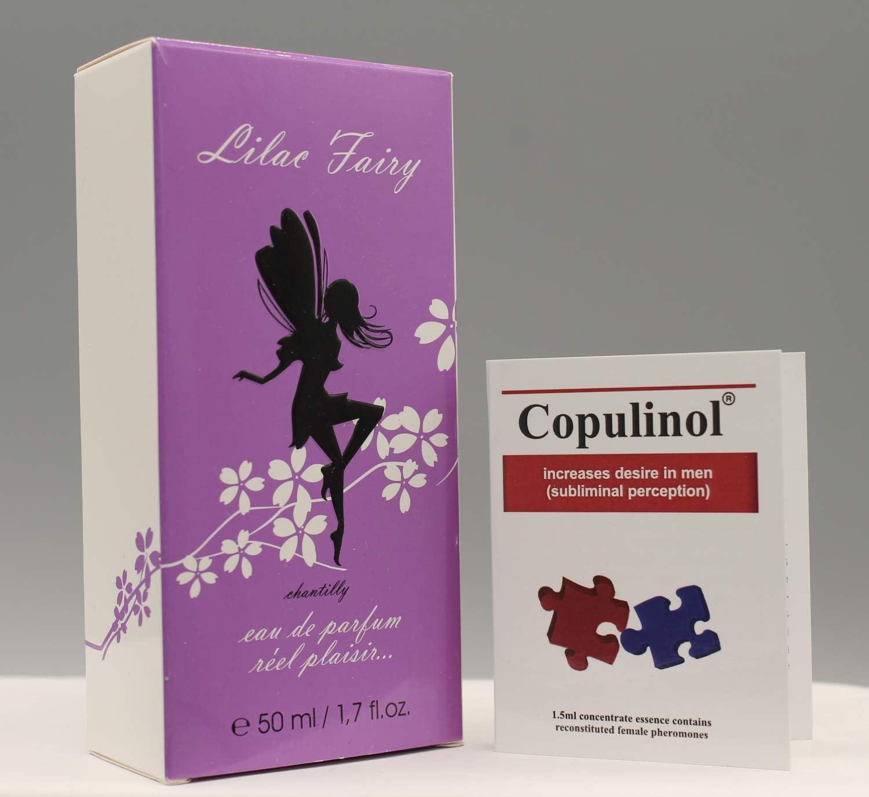 COPULINOL 1.5ml 100% Feromona + LILA FAIRY Chantilly 50ml Para Mujeres Atraer Hombres