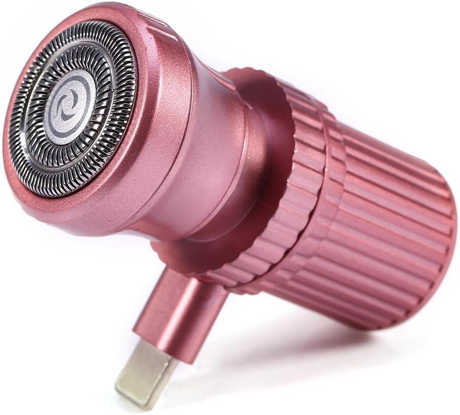 Brrnoo Mini máquina de Afeitar, Conveniente Micro USB Portable ...