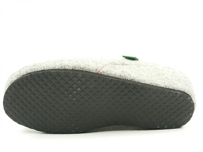 Dr. Brinkmann 330135 Zapatillas de casa Para Mujer, schuhgröße_1:40 EU;Farbe:Gris