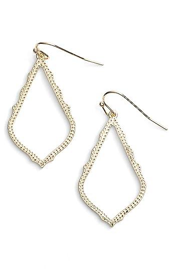 8f41d06ed Amazon.com: Kendra Scott Signature Sophia Drop Earrings - Gold: Jewelry
